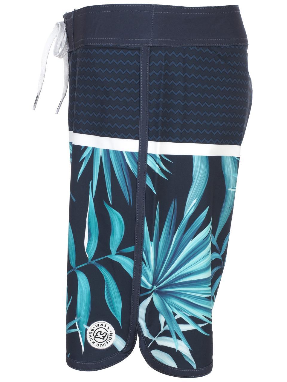 Boardshort-de-bain-Waxx-Boardie-costa-Bleu-77431-Neuf miniature 2