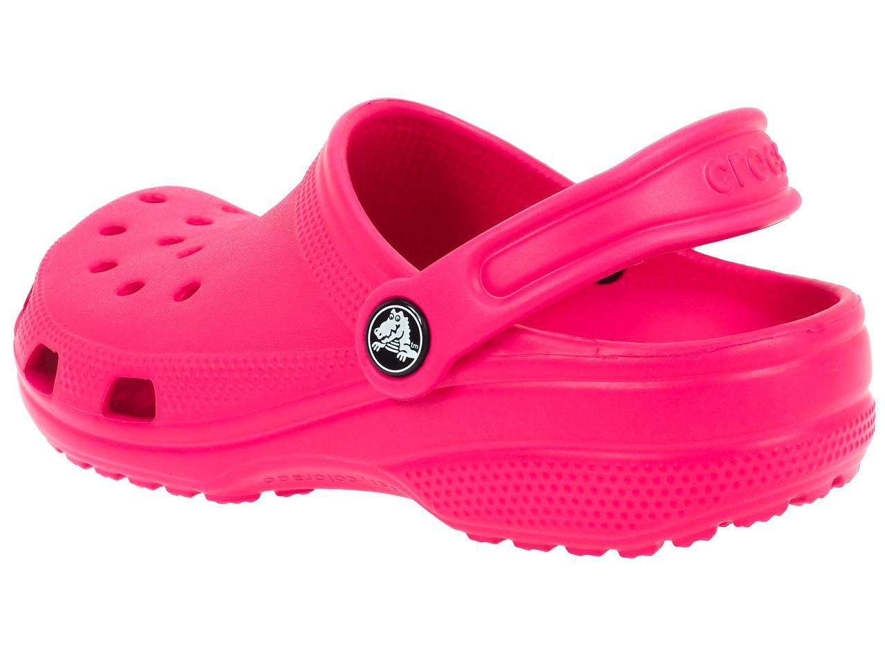 Sabots-Crocs-Classic-candy-pink-kid-Rose-77832-Neuf miniature 2