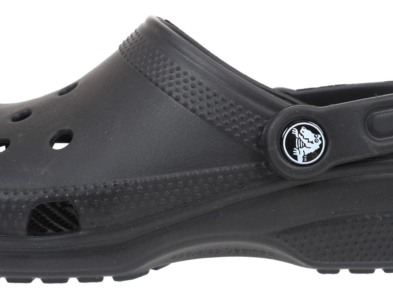 Clogs-Crocs-Classic-Black-Black-78846-New thumbnail 2