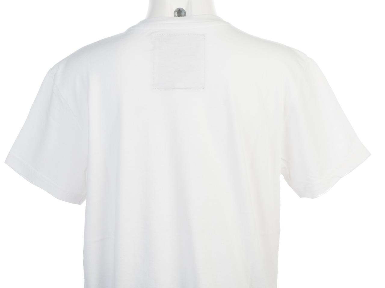 Tee-shirt-manches-courtes-Biaggio-Loumalos-blc-trq-mc-tee-k-Blanc-78985-Neuf