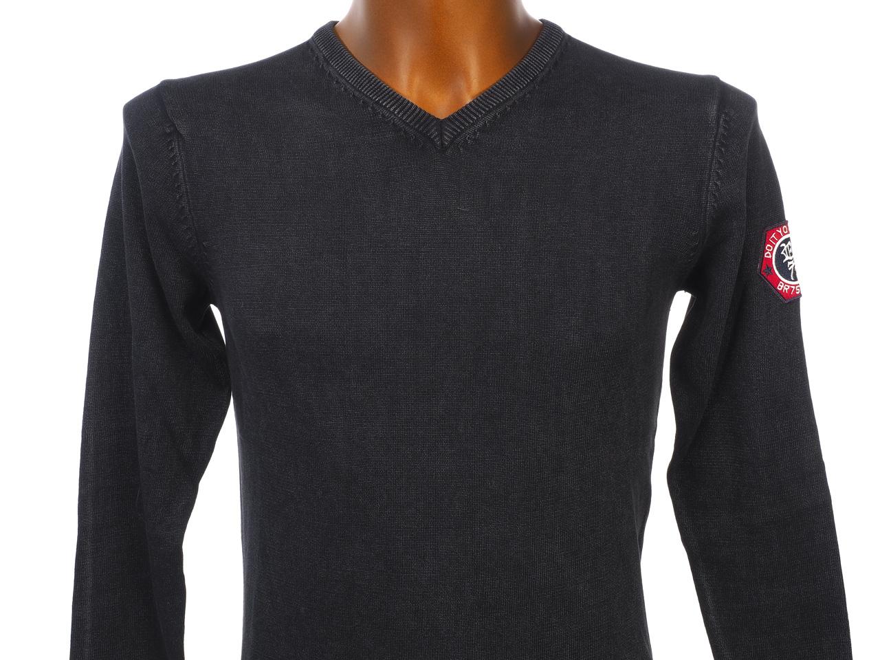 Thin-Sweater-Rivaldi-Black-Gilianu-Black-Black-Sweater-79337-New