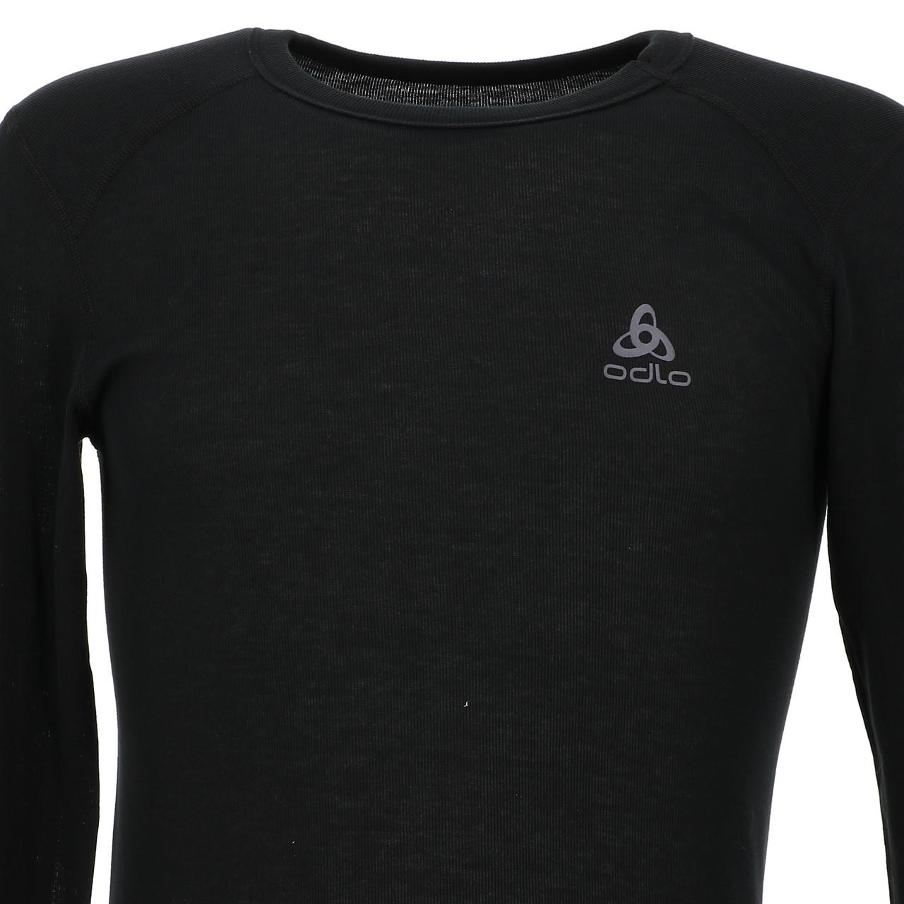 Under-Clothing-Thermal-Hot-Odlo-Warm-Black-DRC-ML-Tee-Black-85353-New thumbnail 2