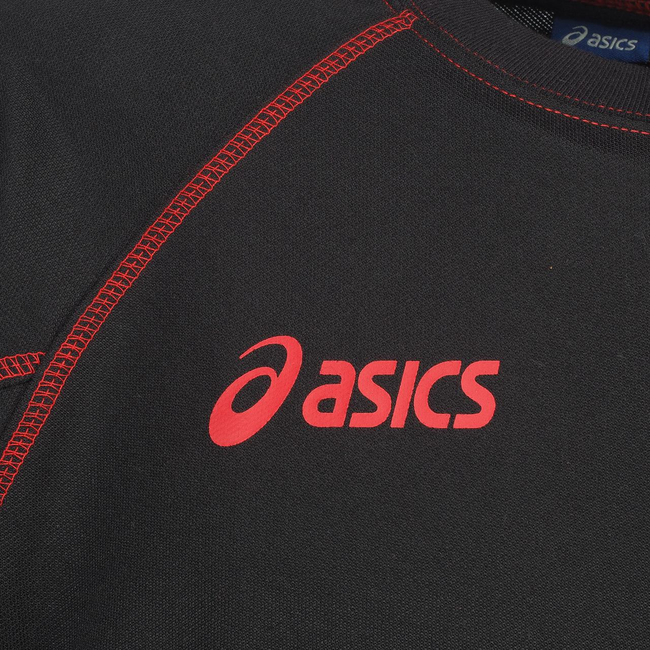 Sweat-Asics-Alpha-new-nr-rge-sweat-Noir-86431-Neuf miniature 2