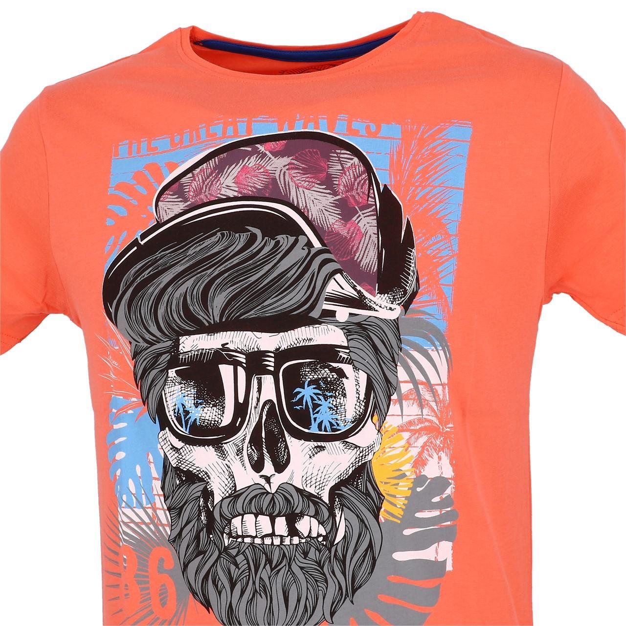Short-La-maison-blaggio-Mably-Hot-Coral-Mc-Tee-Orange-93614 thumbnail 2