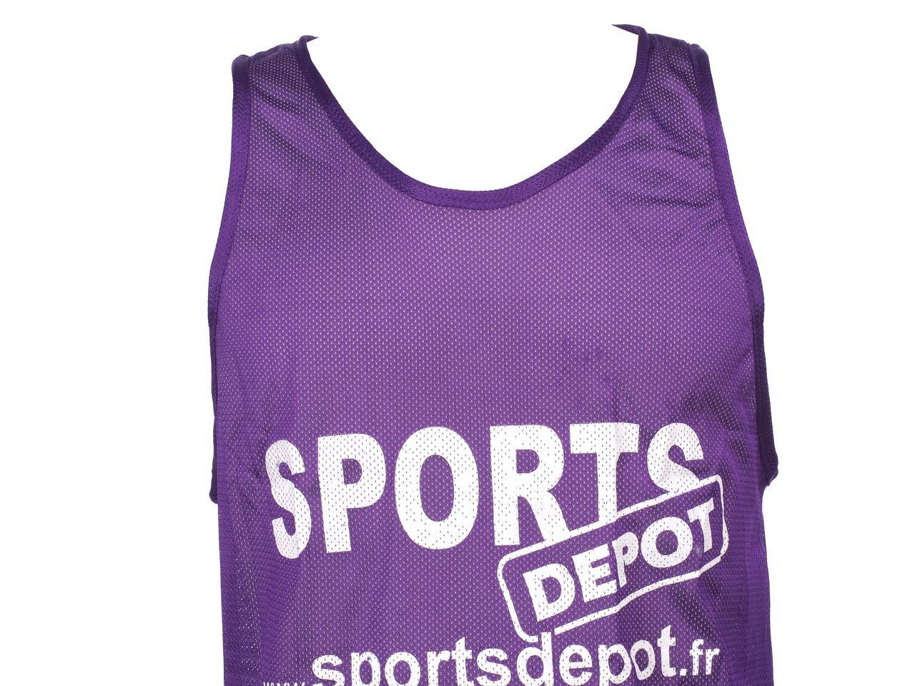 Chasuble-debardeur-Les-fous-du-foot-Chasuble-violetsport-Violet-97107-Neuf