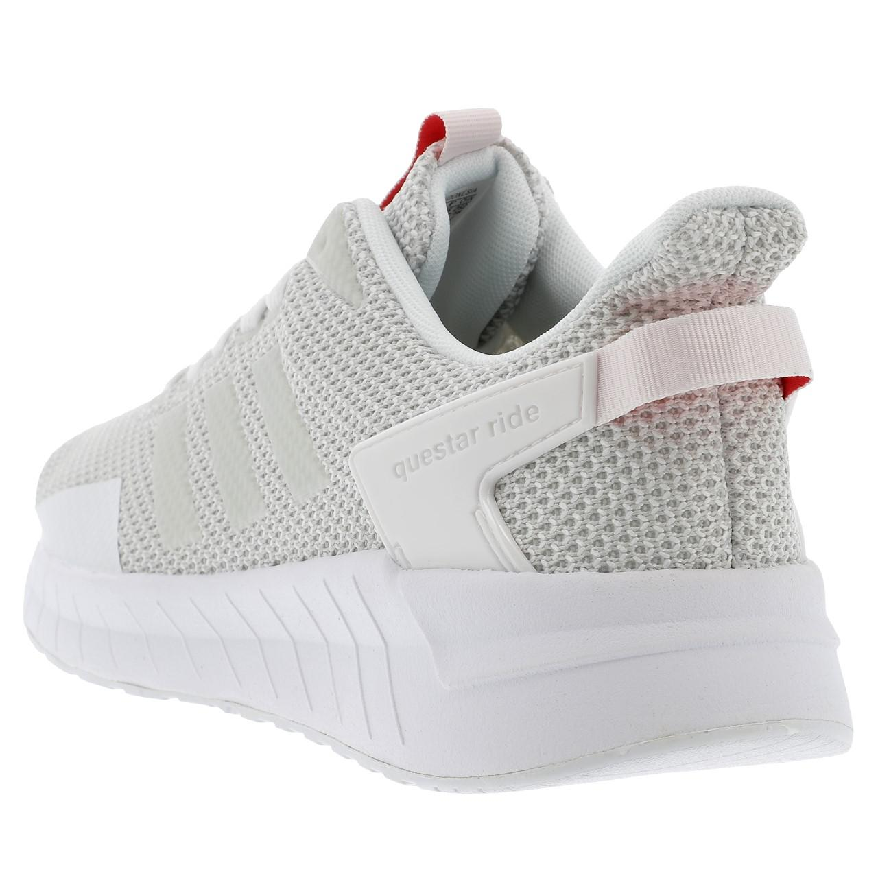 lowest price d59dc 1f6d8 ... Zapatos running mode Adidas Adidas Adidas Questar ride wht grs Blanc  201816 Neuf df0b80 ...