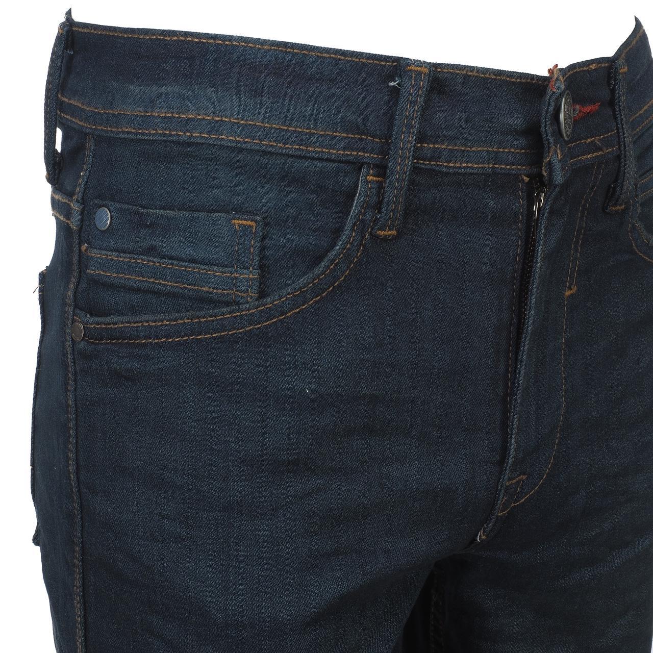 Jeans-Pants-Slim-Blend-Twister-34-Dk-Blue-Blue-Jeans-10961-New thumbnail 3