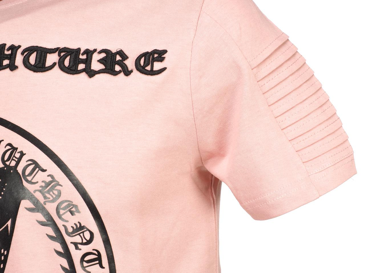 Short-Hite-Couture-Mafler-Pink-Mc-Tee-Pink-11529-New thumbnail 3