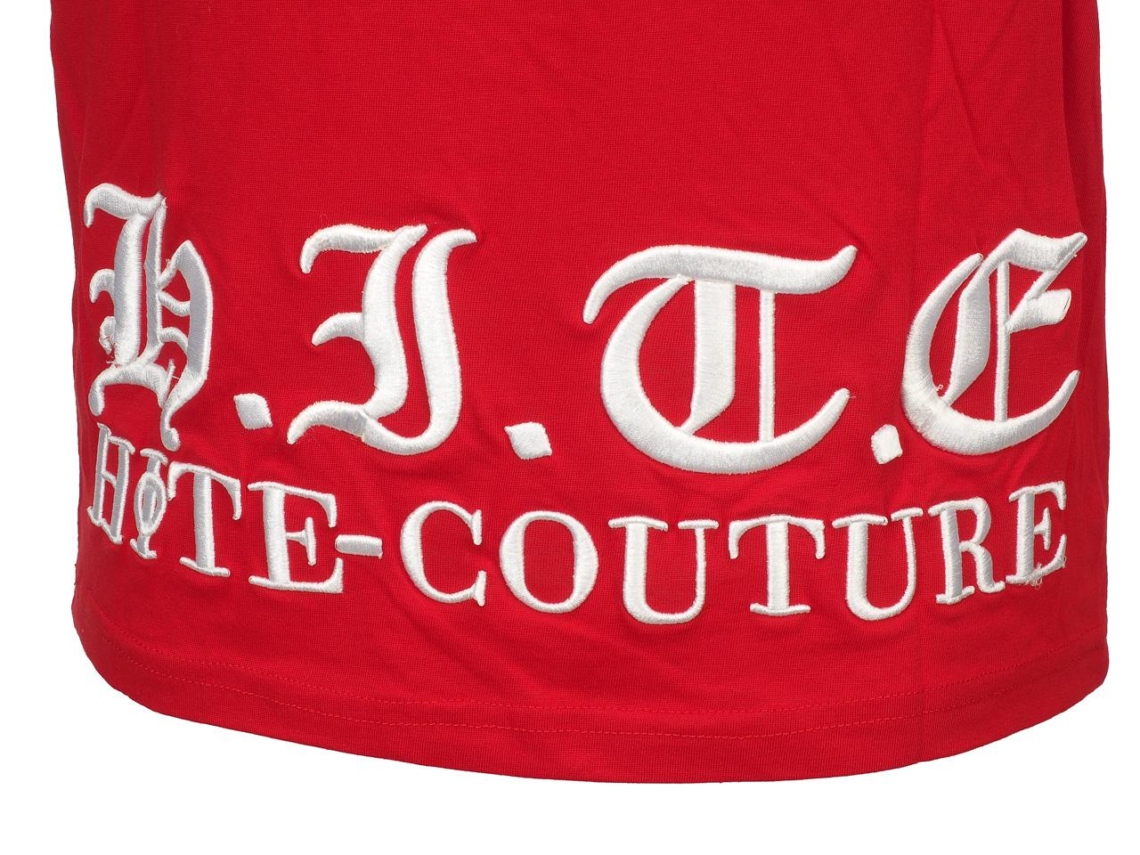 Short-Hite-Couture-Mount-Red-Mc-Tee-Red-11554-New thumbnail 3