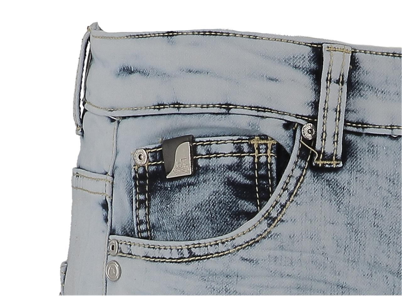 Bermuda-Shorts-Hite-Couture-Spill-Denim-Blue-Bermuda-Blue-11588-New thumbnail 3