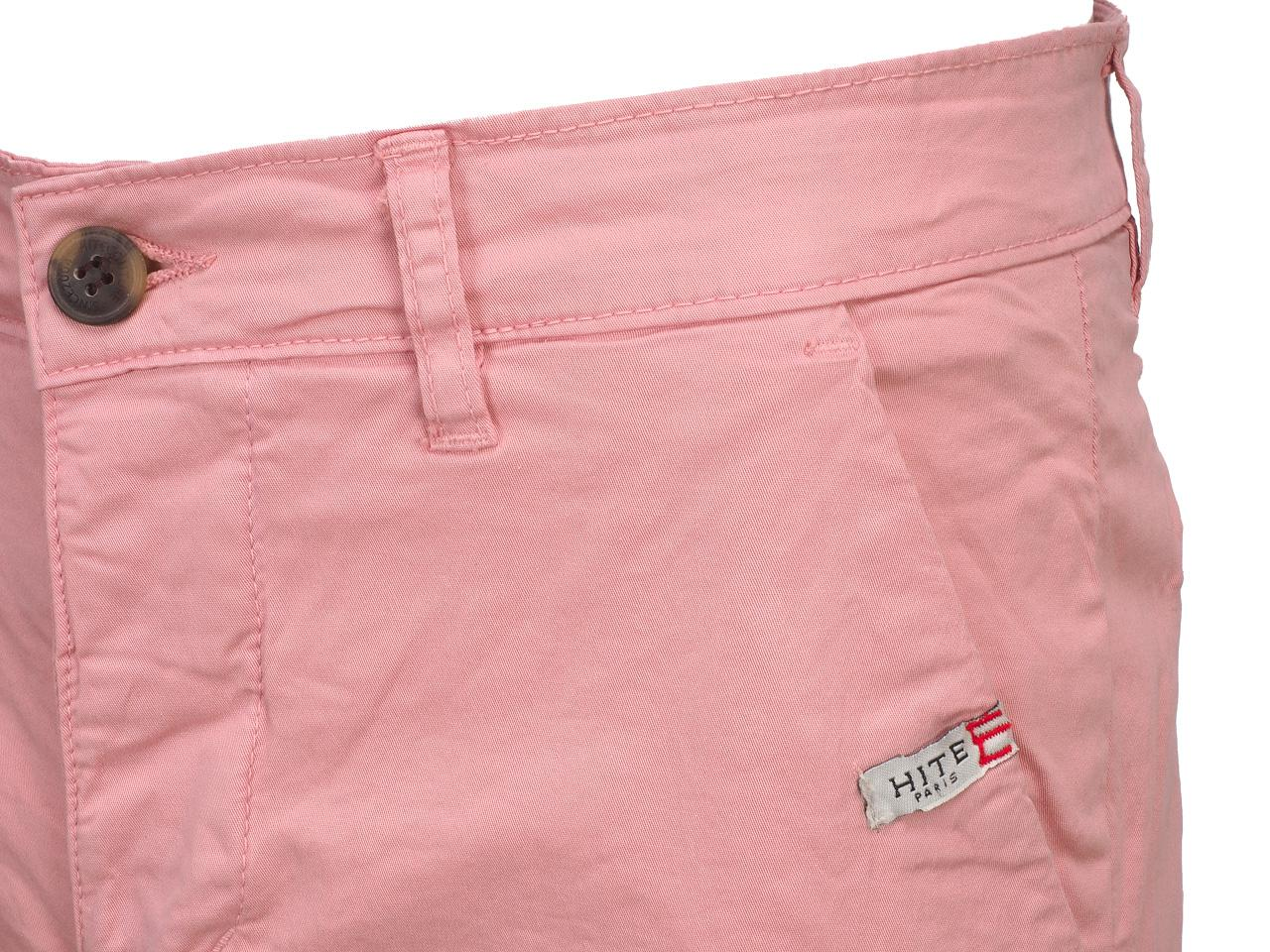 Bermuda-Shorts-Hite-Couture-Vobier-Rse-Bermuda-Chino-Pink-11606-New thumbnail 3