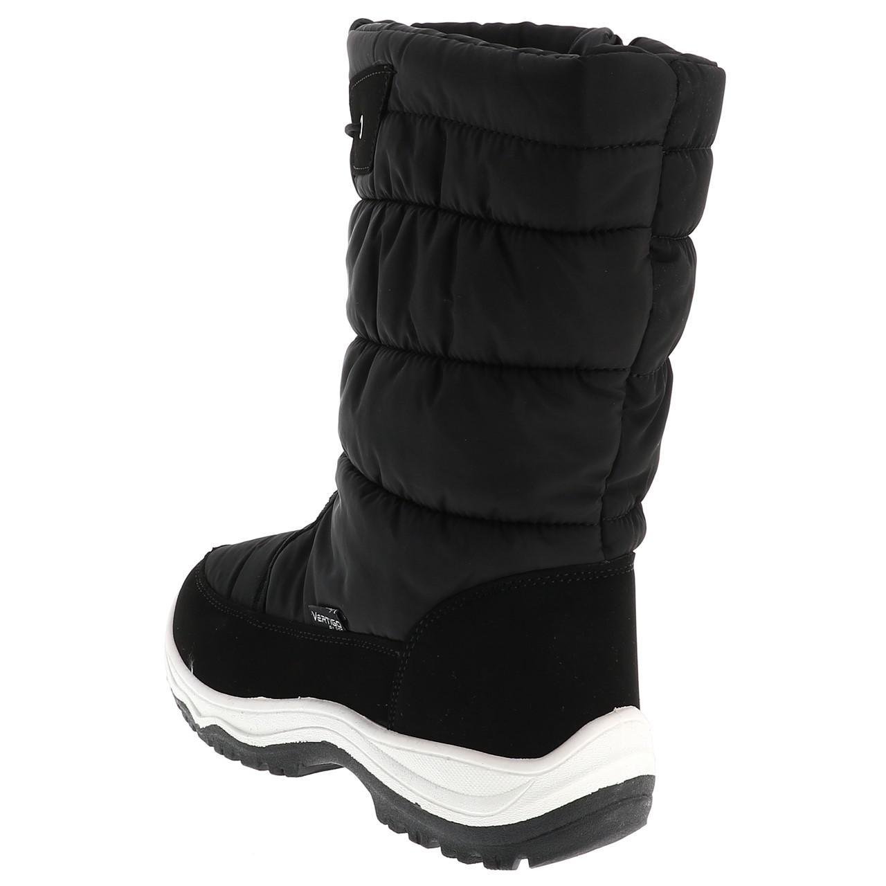 Bottes-neige-apres-ski-Alpes-vertigo-Listo-noir-boots-l-Noir-14439-Neuf miniature 3