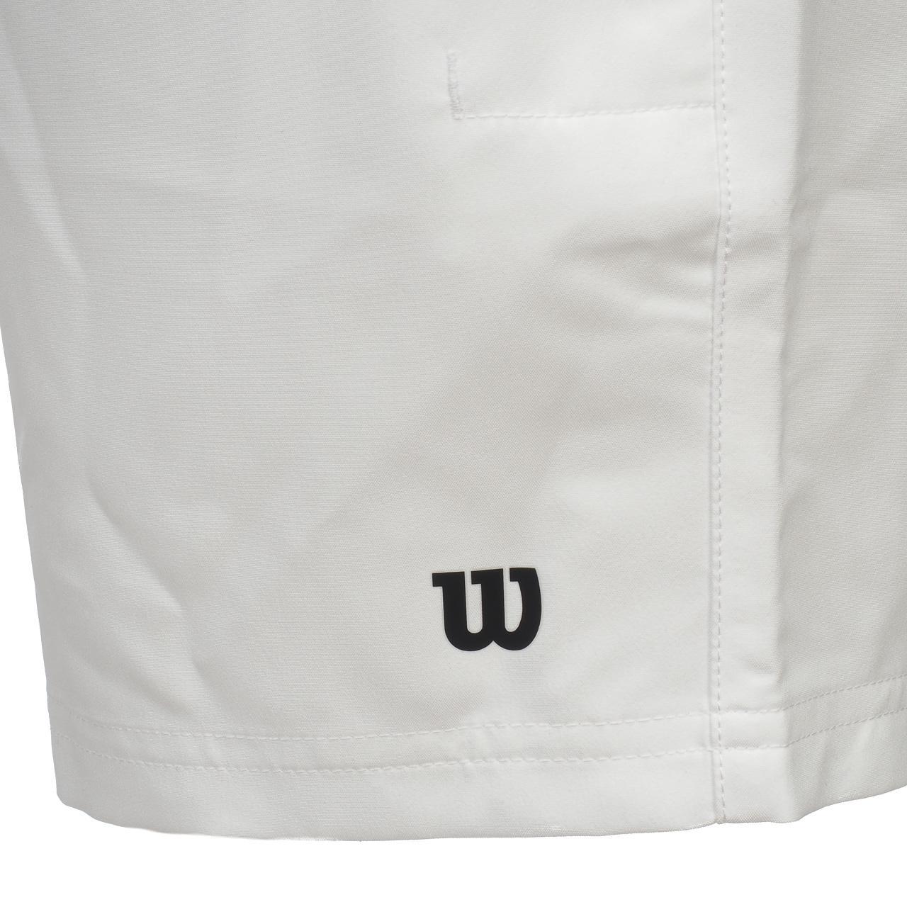 Short-de-tennis-Wilson-Team-7-blc-short-junior-Blanc-15570-Neuf miniature 3