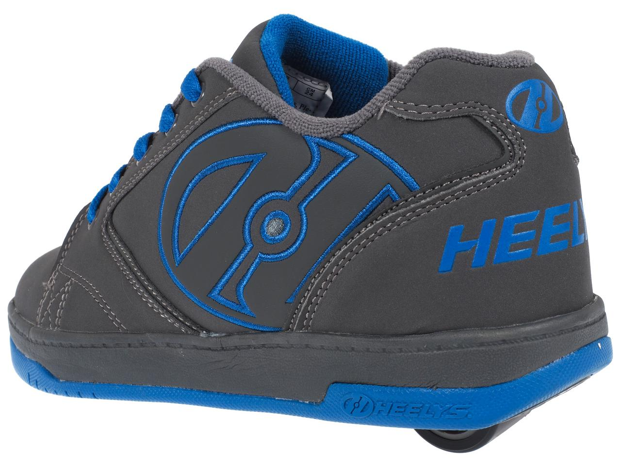 Shoes-to-Casters-Heelys-Propel-2-0-Grey-Royal-Grey-15616-New thumbnail 3