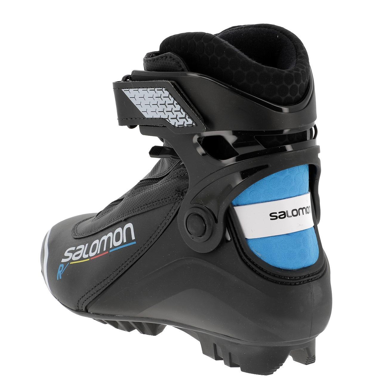 Chaussure De Ski De Fond Salomon R Pilot Black Noir 16373