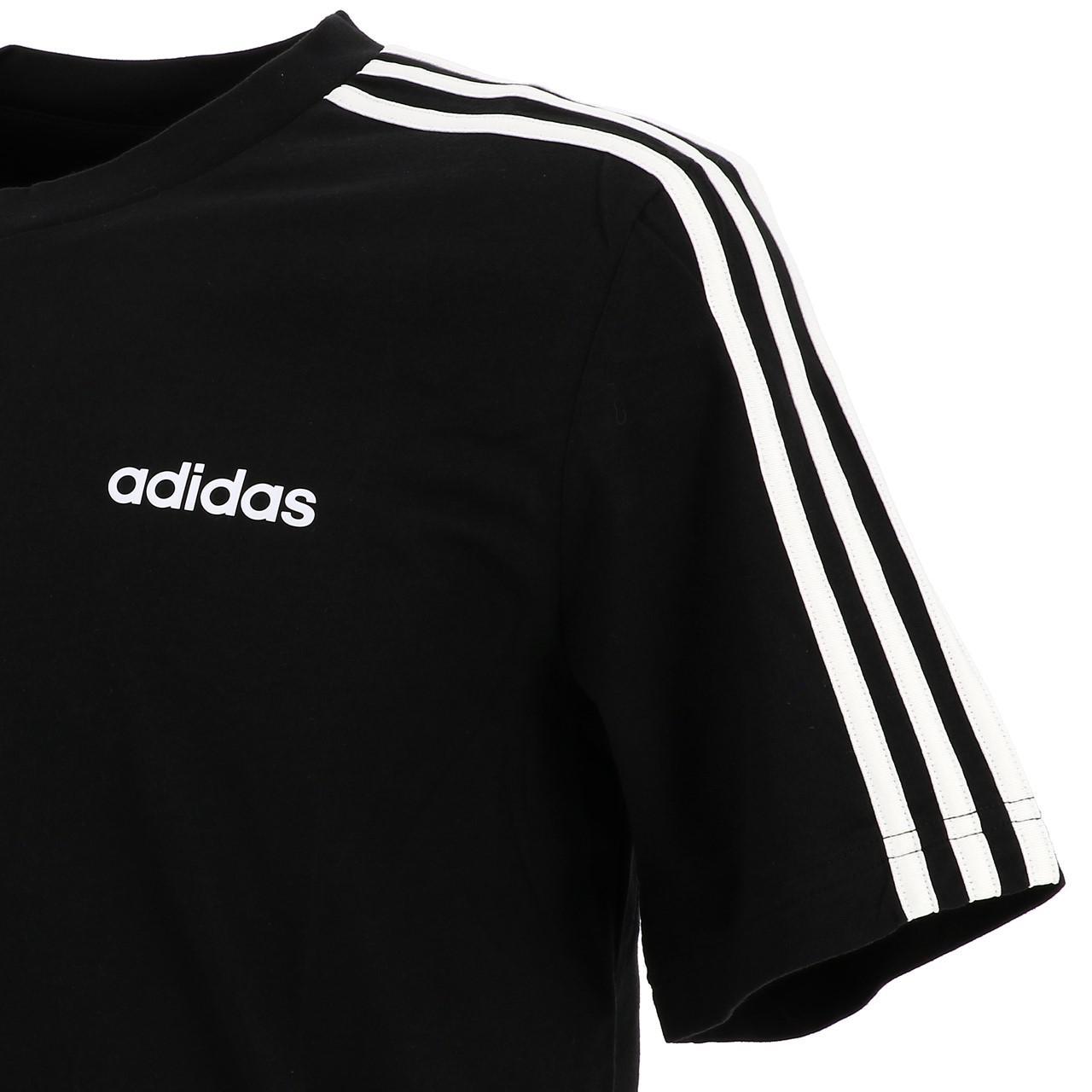Short-Adidas-E-3s-Mc-Tee-Black-Wht-Black-16694-New thumbnail 3