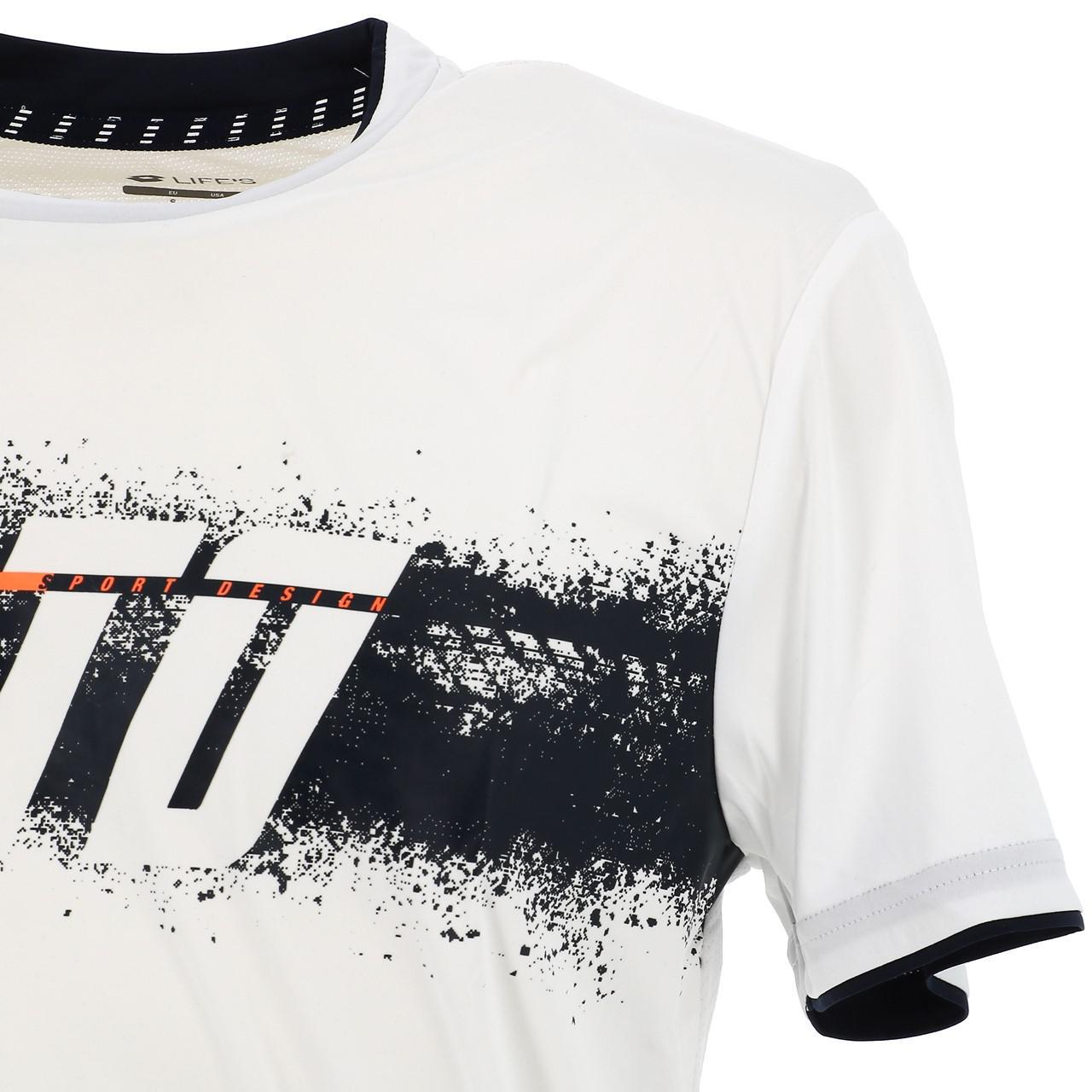 Short-Lotto-Logo-Print-White-Mc-Tee-White-17794-New thumbnail 3