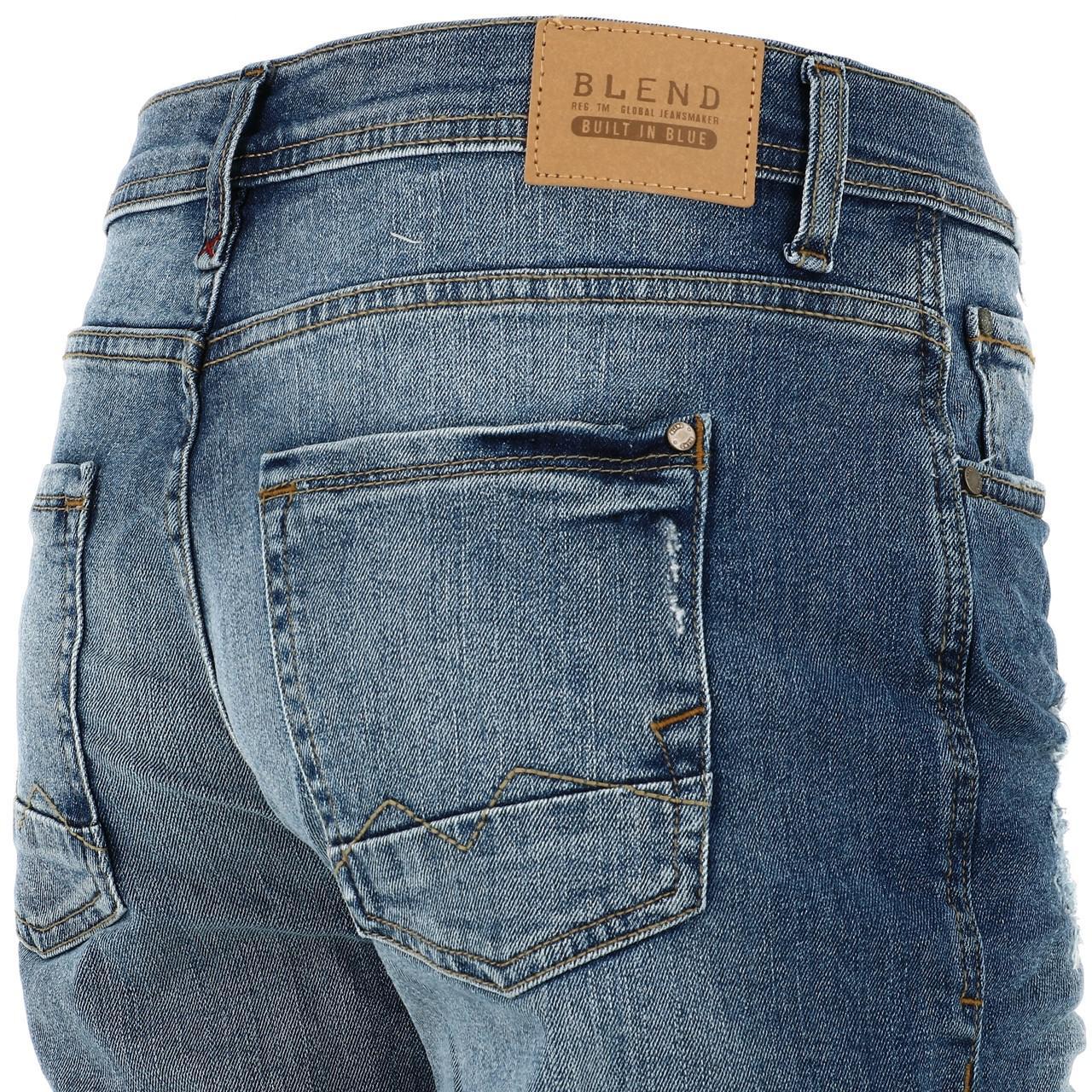 Bermuda-Shorts-Blend-Jork-Denim-Lt-Blue-Shorts-Blue-18056-New thumbnail 3