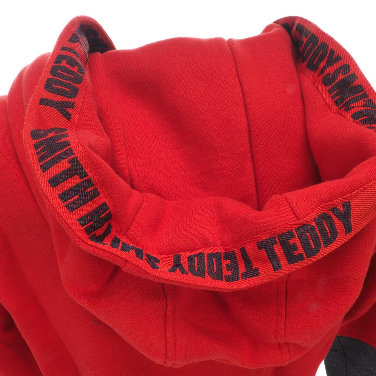Jacken-Sweatshirts-Zipped-Kapuze-Teddy-Smith-Gafe-Blood-Fz-Umhang-Sw-Jr-Rot Indexbild 2