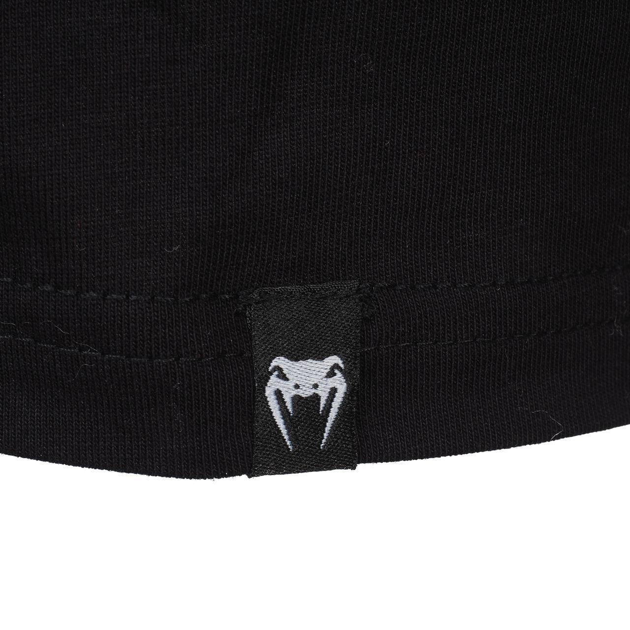 Short-Sleeve-T-Shirt-Venum-Logo-Black-Wht-Mc-Tee-Black-18232-New thumbnail 3