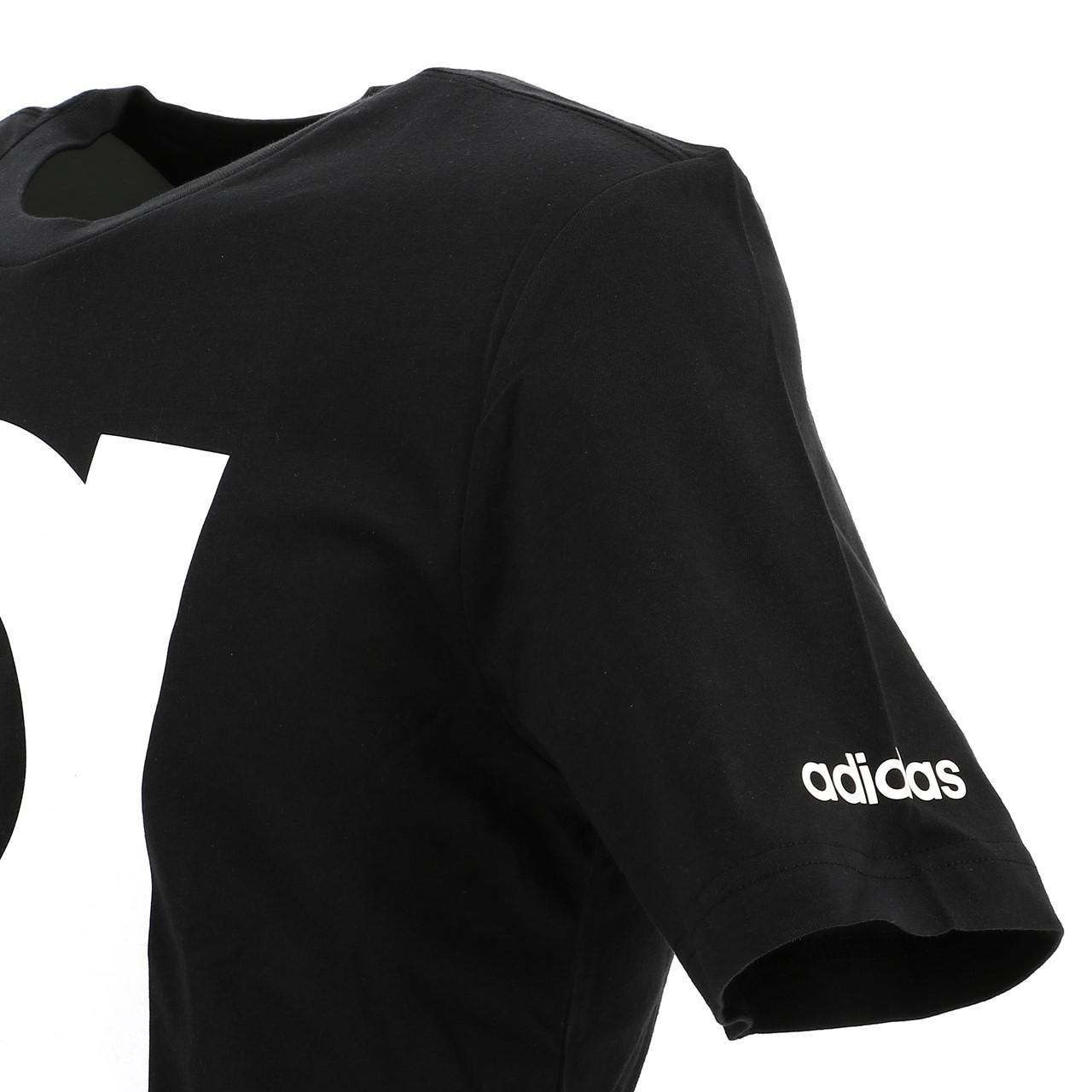 Short-Adidas-Brand-Black-Mc-Tee-Black-18283-New thumbnail 3