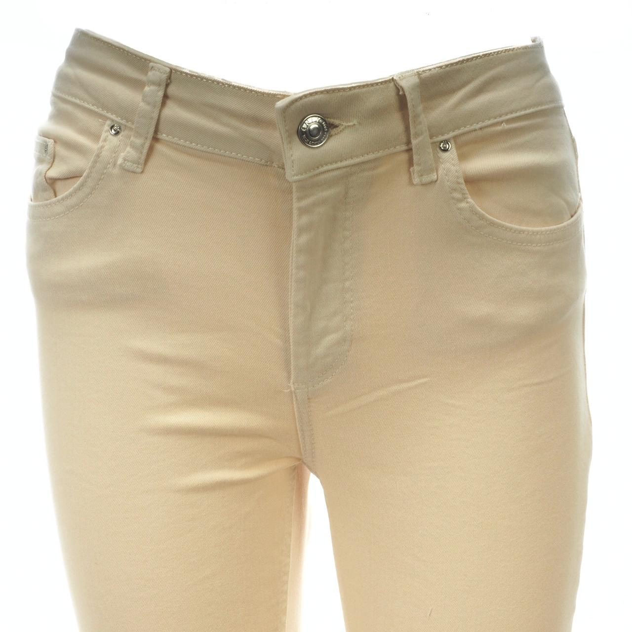 Trousers-Slim-Jeans-only-Blush-32-Egret-Jeans-L-Beige-18666-New thumbnail 3