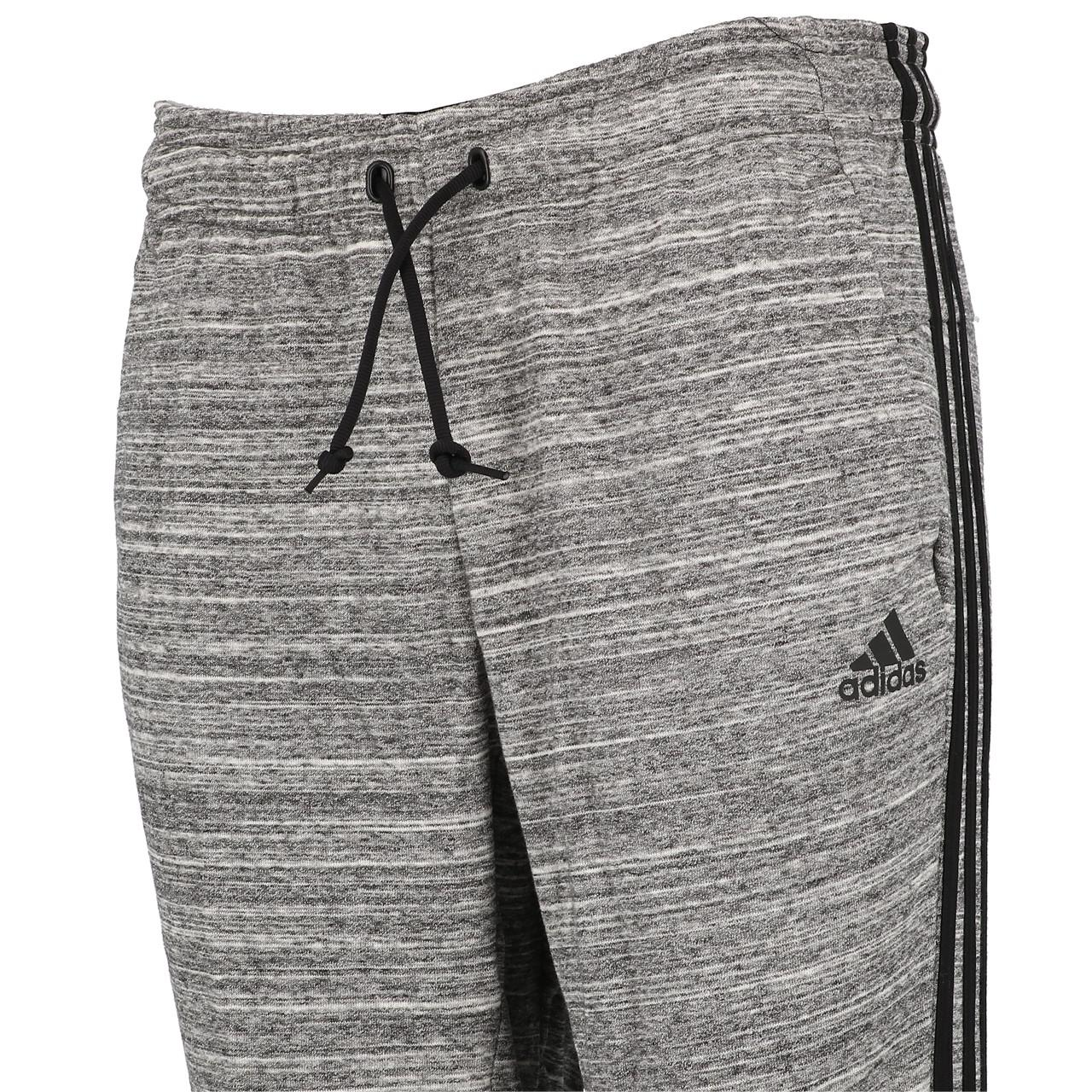 Trainingshose-Adidas-MH-Hth-Hose-Blk-Mel-L-Schwarz-18938-Neu Indexbild 3