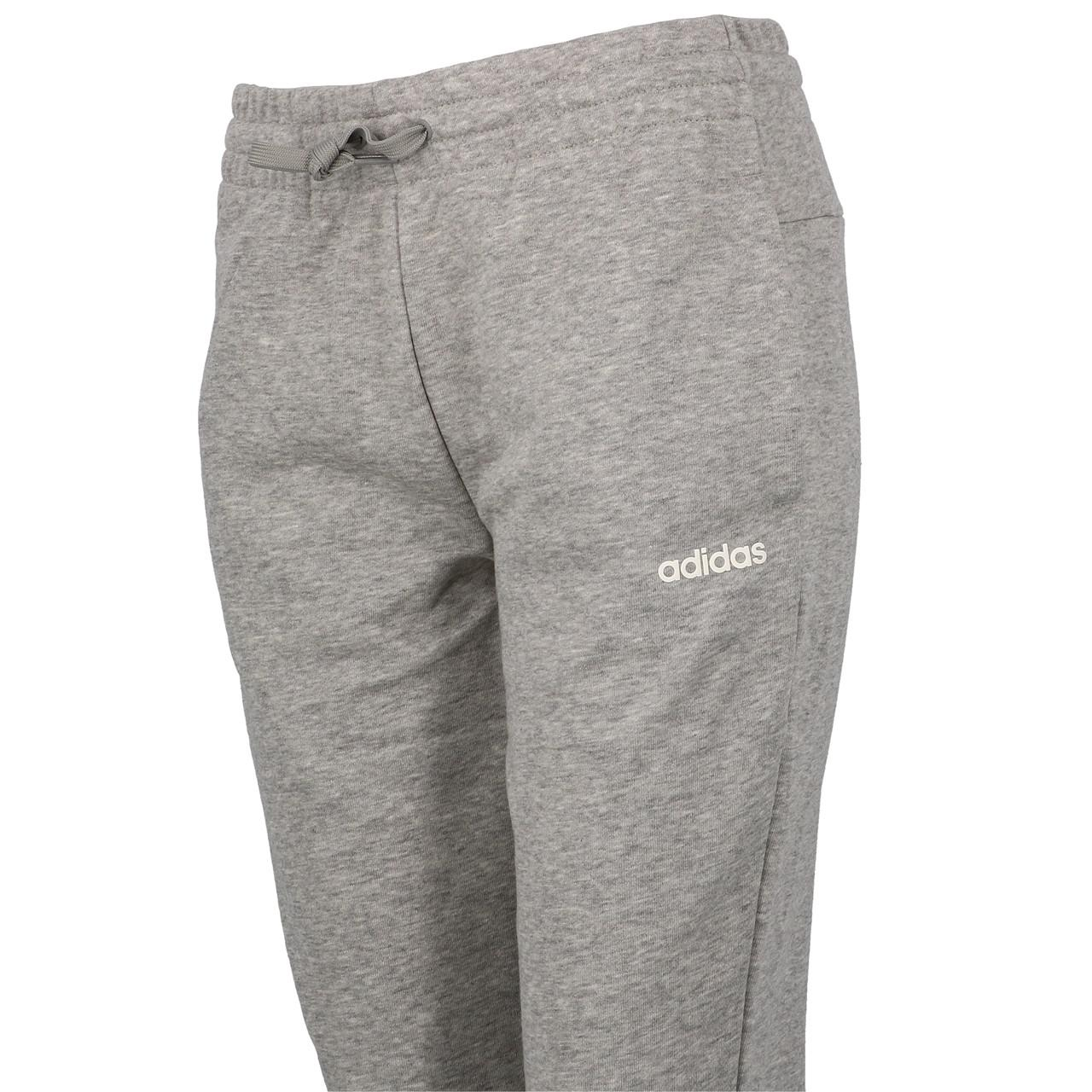 Pantalon-de-survetement-Adidas-E-pln-pant-grey-mel-l-Gris-18973-Neuf miniature 3