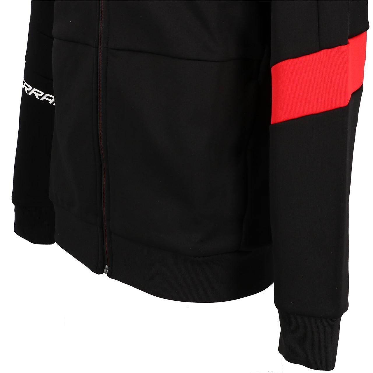 Sweatshirts-Jacken-mit-Reissverschluss-Puma-Sf-t7-Track-Schwarz-19723-Neu Indexbild 3