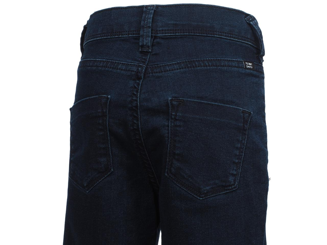 Pantalon-jeans-Teddy-smith-The-jeg-navy-jeans-girl-Bleu-24306-Neuf miniature 3