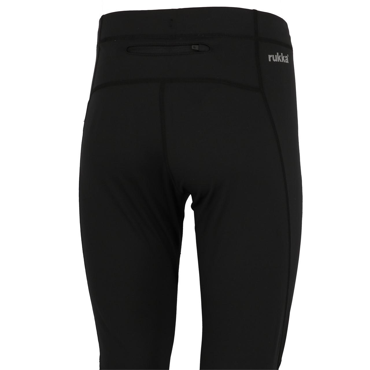 Legging-Sport-Rukka-Jonah-Blk-Tight-Run-Schwarz-25715-Neu Indexbild 3