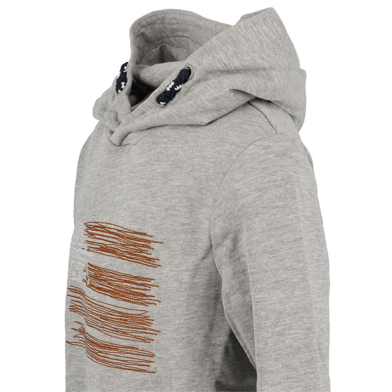 Sweatshirt-Kapuze-Kapuzenpulli-Name-It-Opilo-Grau-Mel-Sw-Jr-Grau-25908-Neu Indexbild 2
