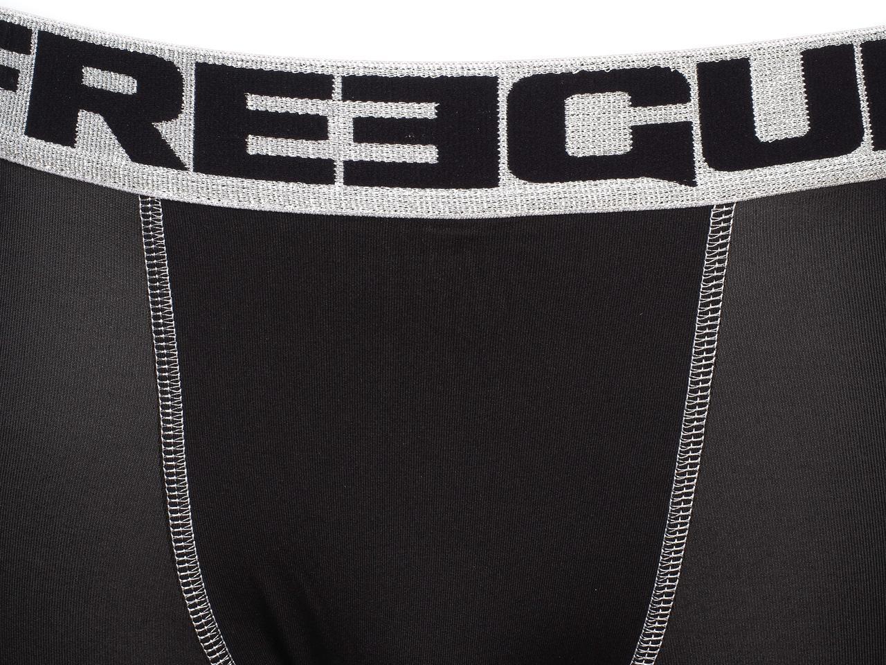 Underwear-Boxer-Freegun-Blacky-Silver-Black-Black-Boxer-26414-New thumbnail 3
