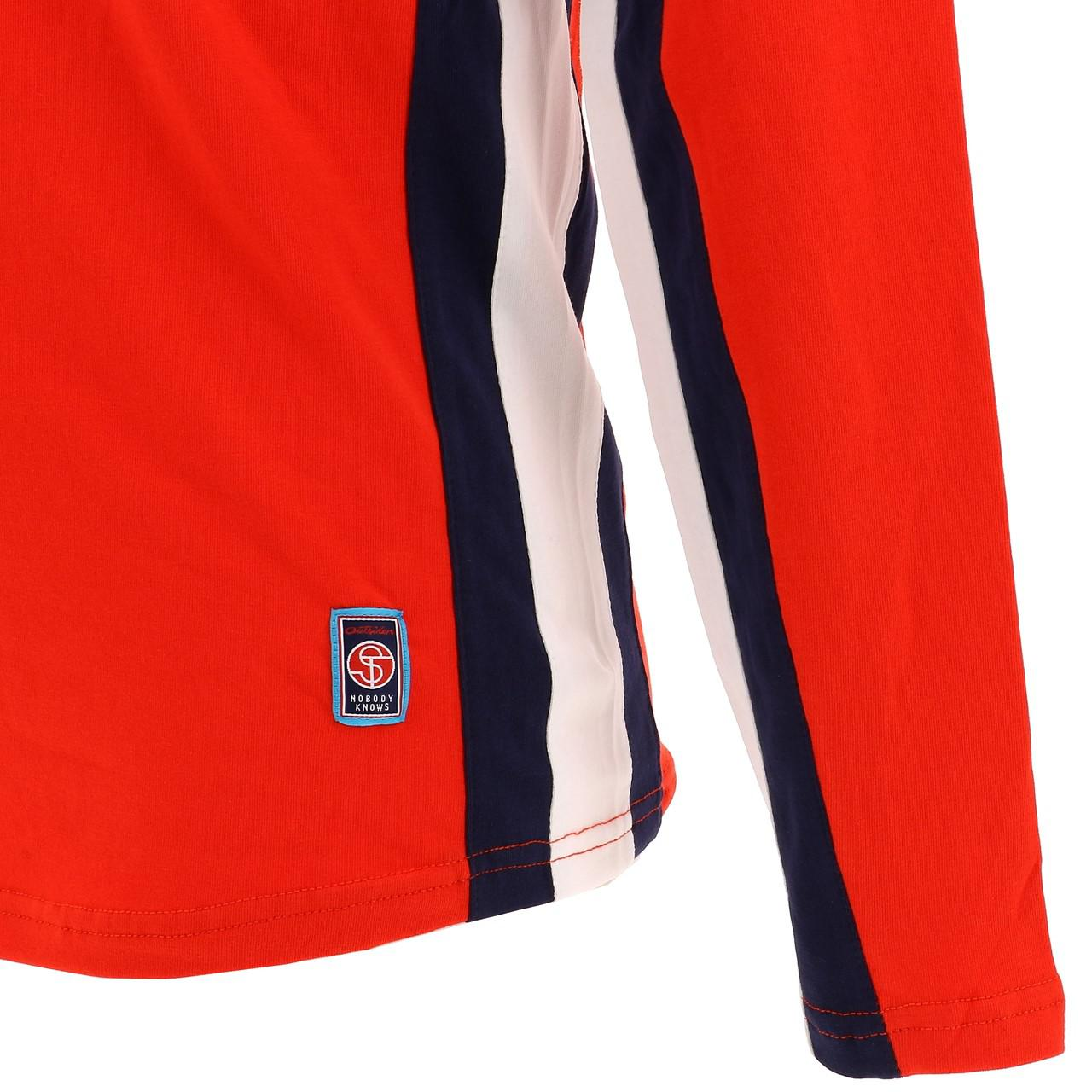 T-Shirt-Long-Sleeves-Yamaha-Yam-C-Red-ML-Tee-Red-28650-New thumbnail 2