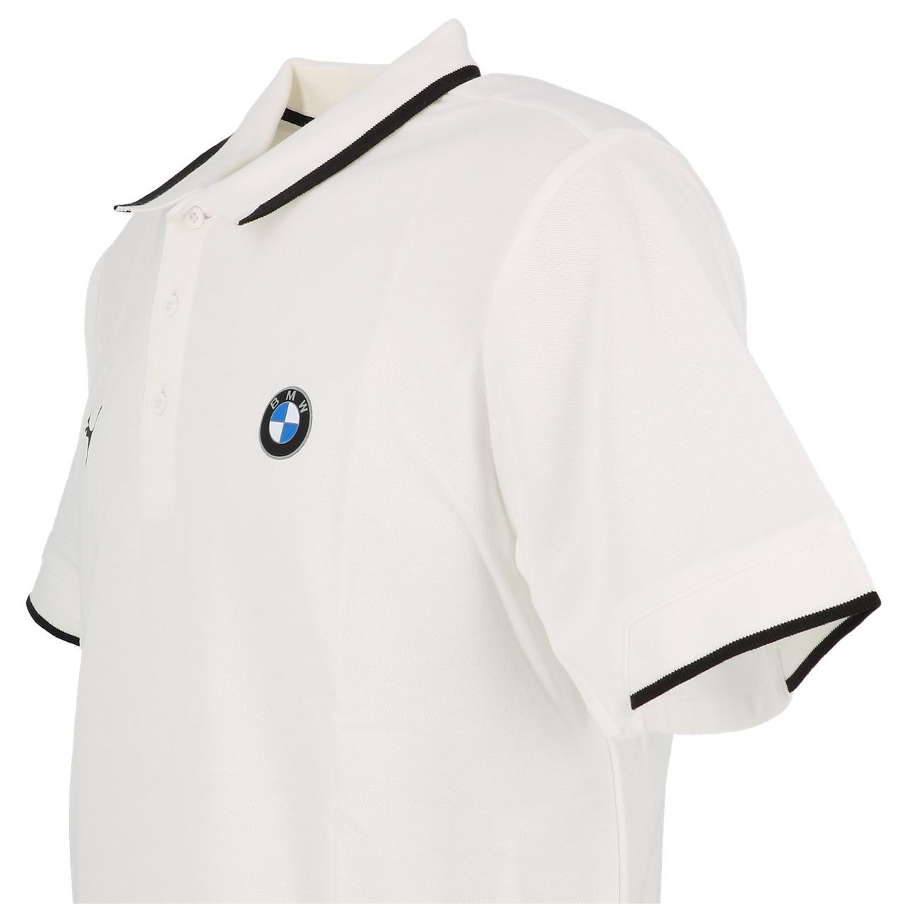 Short-Sleeve-Polo-Puma-BMW-Mms-Wht-Mc-Polo-White-30113-New thumbnail 3