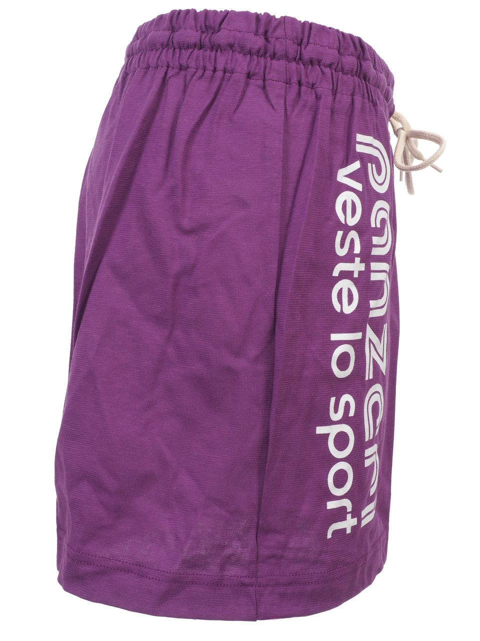 Shorts-Multi-Panzeri-Plain-a-Purple-Jersey-Shorts-Purple-30929-New thumbnail 3
