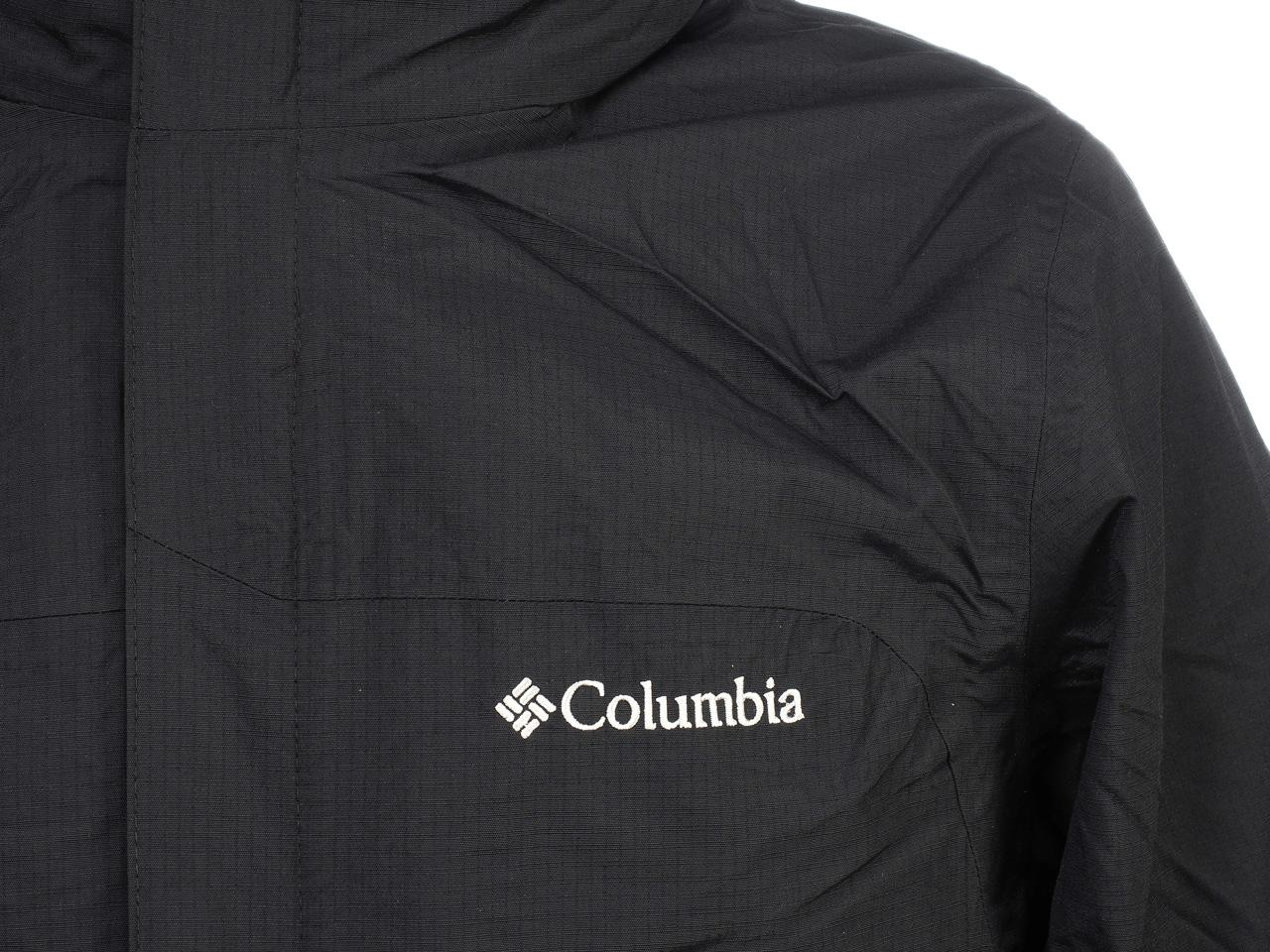 Jackets-3-in-1-Columbia-Mission-Air-Black-Black-41300-New thumbnail 3