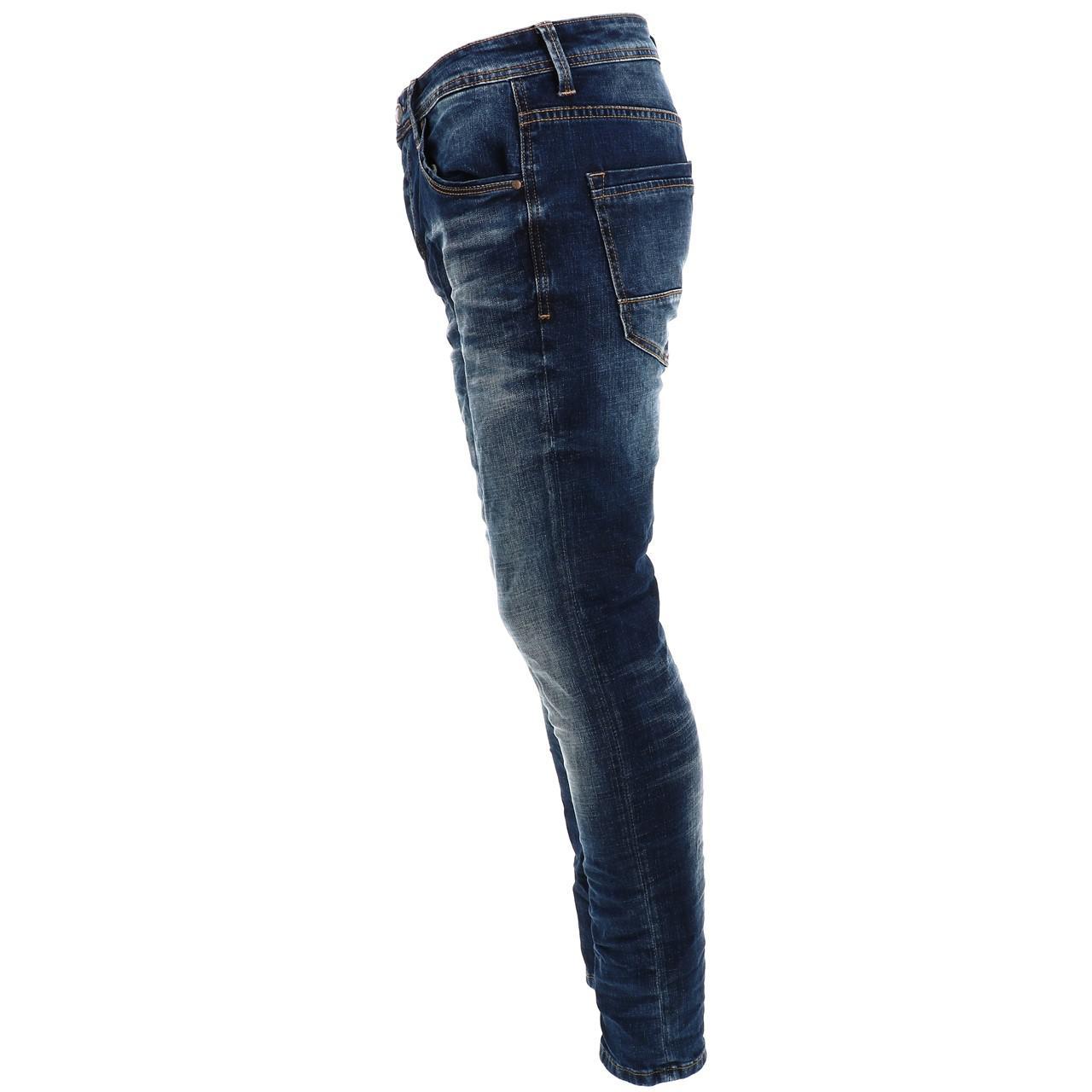 Jeans-Pants-Senders-Bullon-Used-Blue-Blue-41918-New thumbnail 3