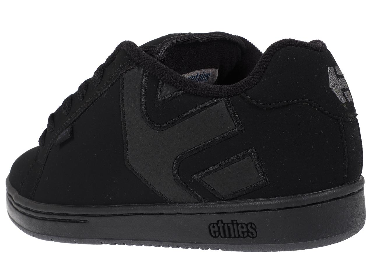 Shoes-Skateboard-Etnies-Fader-Black-Dirty-Wash-Black-42823-New thumbnail 3