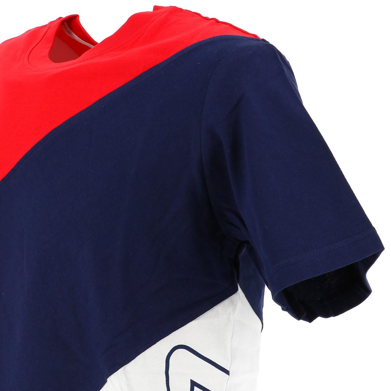 Short-Fila-Grove-Diagonal-3-Color-Red-42932-New thumbnail 3