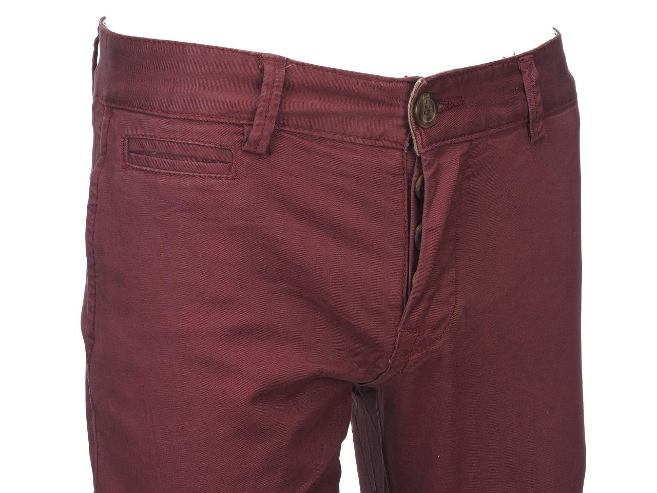 Pantalon-Crossby-Chino-bordeaux-pant-Rouge-44066-Neuf miniature 3