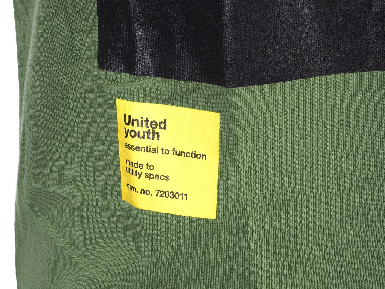 Short-Sleeve-T-Shirt-Jack-and-Jones-Dave-Vineyard-Green-Tee-44186-Does-Not thumbnail 3