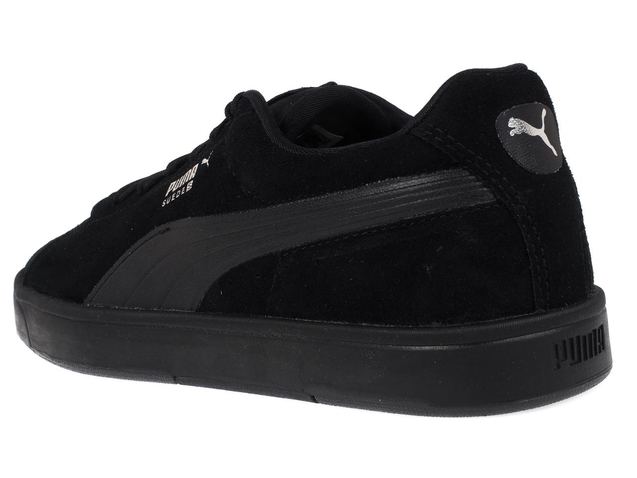 Chaussures basses cuir ou simili Puma Suede s noir/nr noir/nr noir/nr Noir 44428 - Neuf 5aeb30