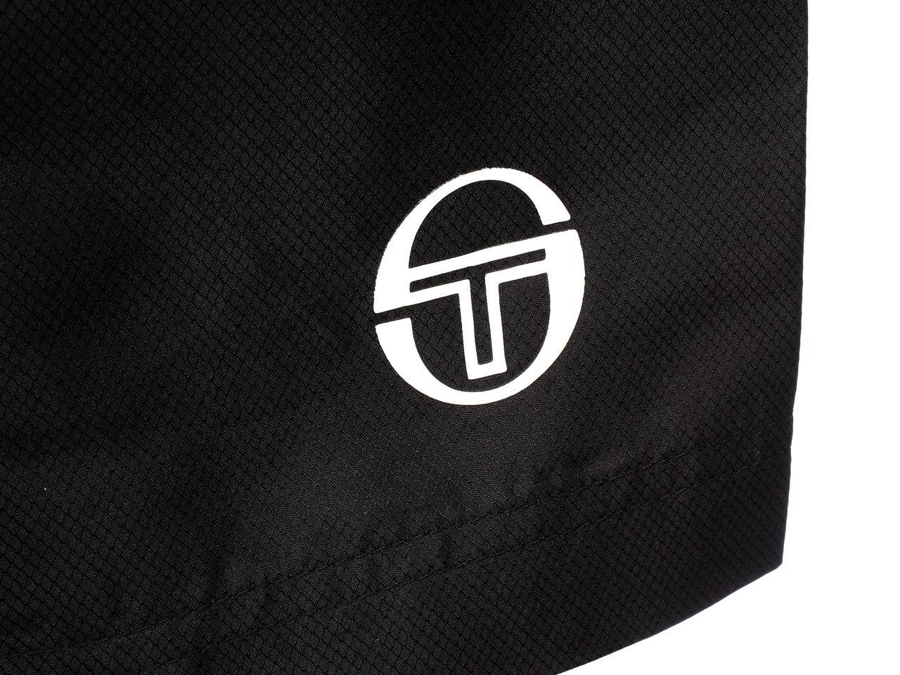 Bermuda-Shorts-Sergio-Tacchini-Rob-017-Black-Black-Shorts-45018-New thumbnail 3