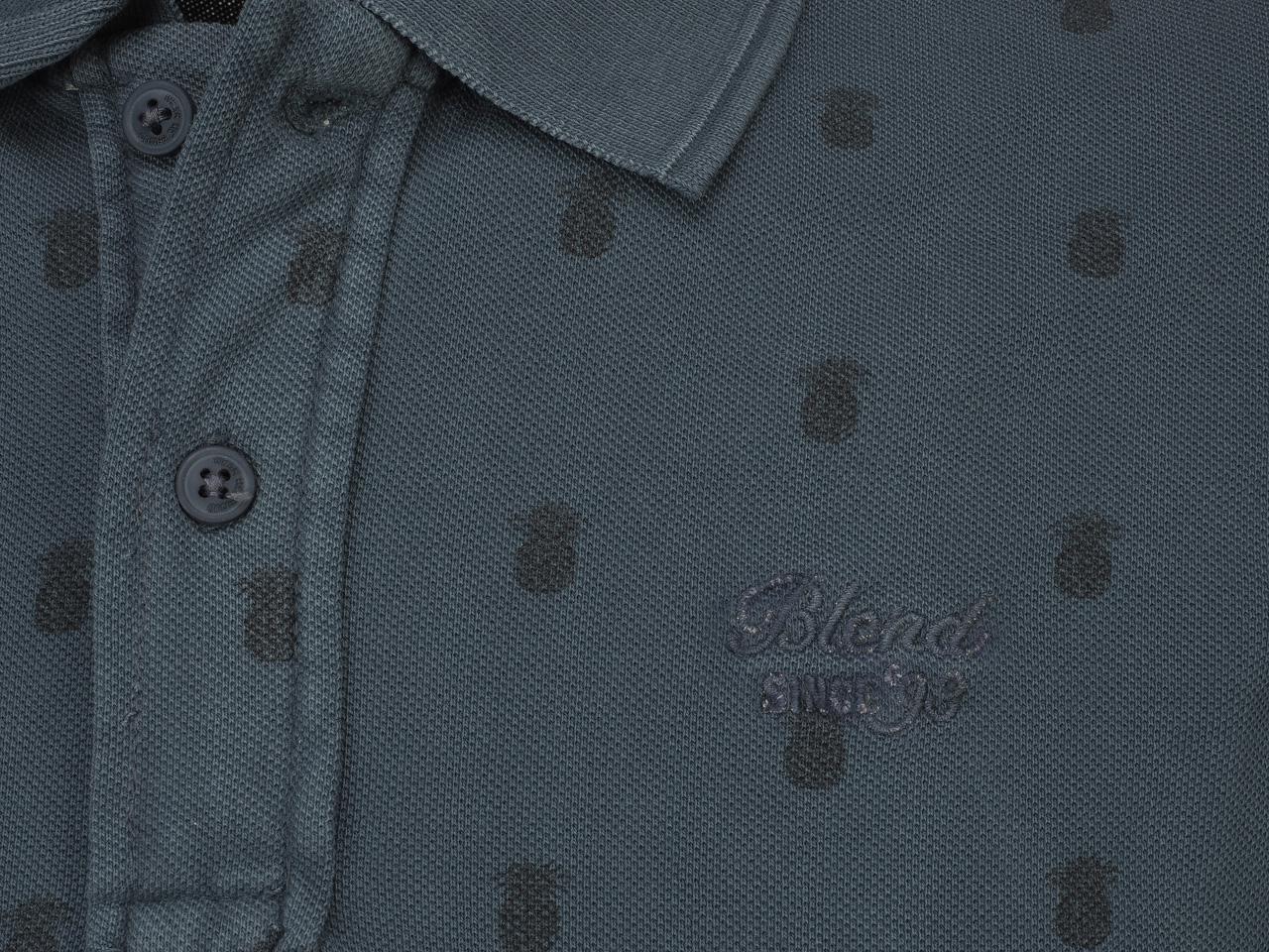 Short-Sleeve-Polo-Blend-Milan-Denim-Blue-Mc-Polo-Blue-45442-New thumbnail 3