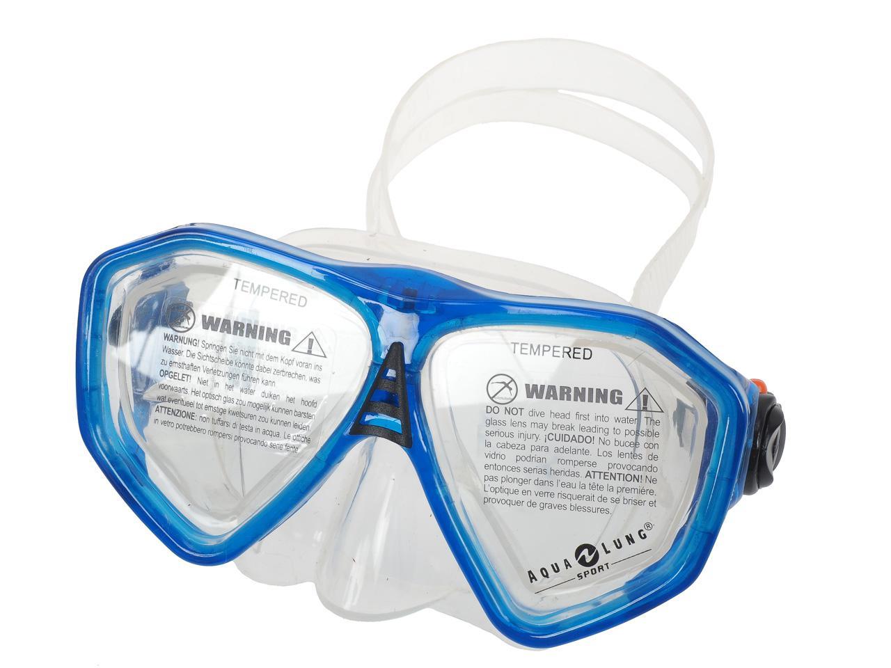Set-de-plongee-Aqualung-Set-rando-junior-Bleu-46269-Neuf