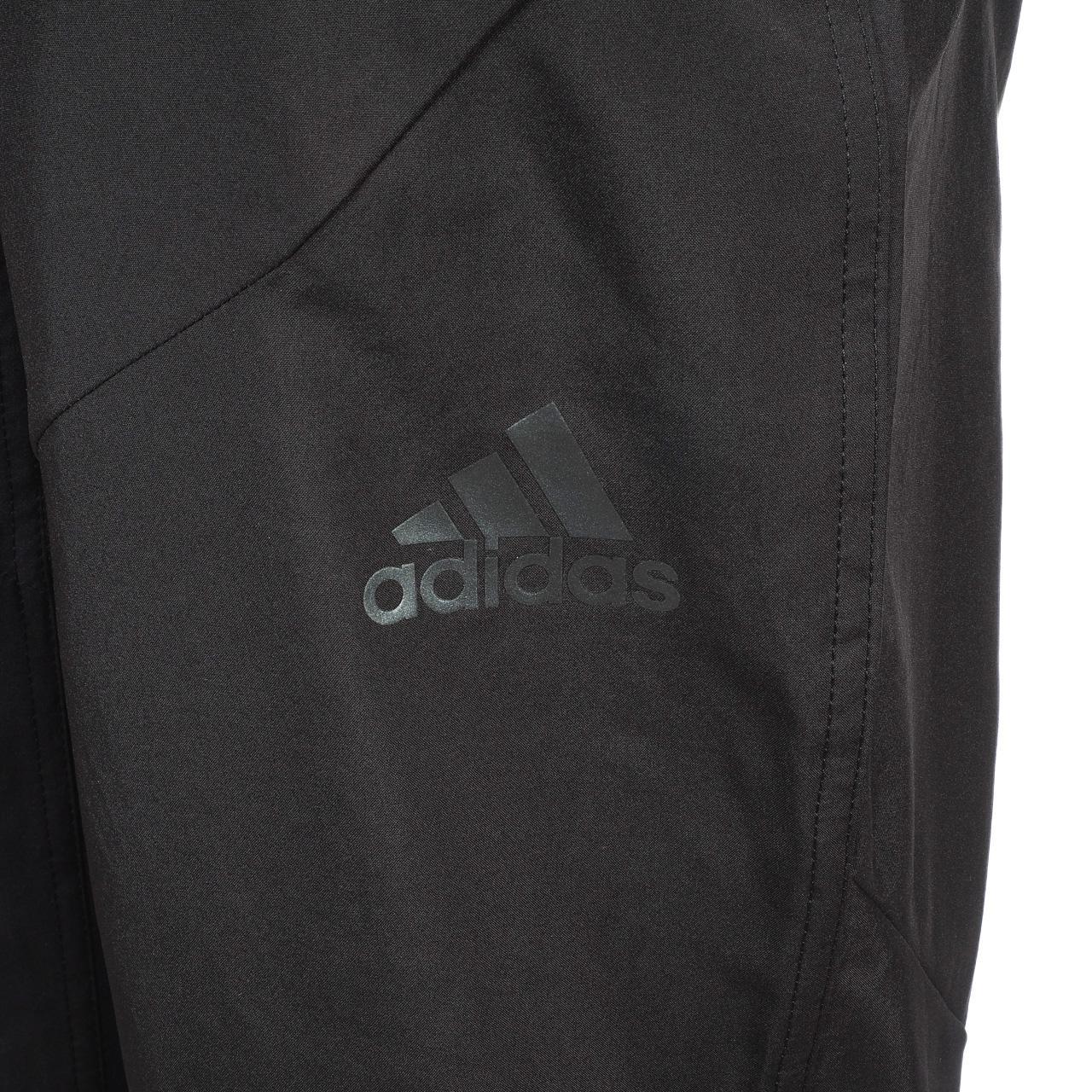Trainingshose-Adidas-wo-Pa-Ccool-Wv-Schwarz-Schwarz-46540-Neu Indexbild 3