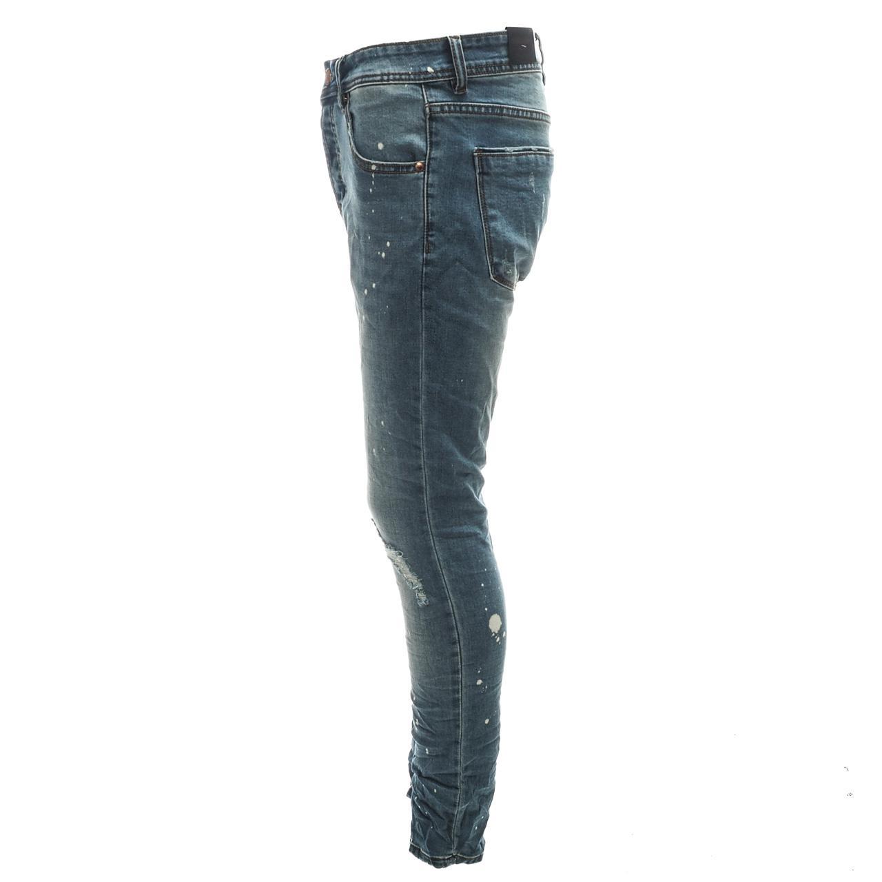 Jeans-Pants-Senders-Rikavik-Used-Blue-Blue-50030-New thumbnail 3