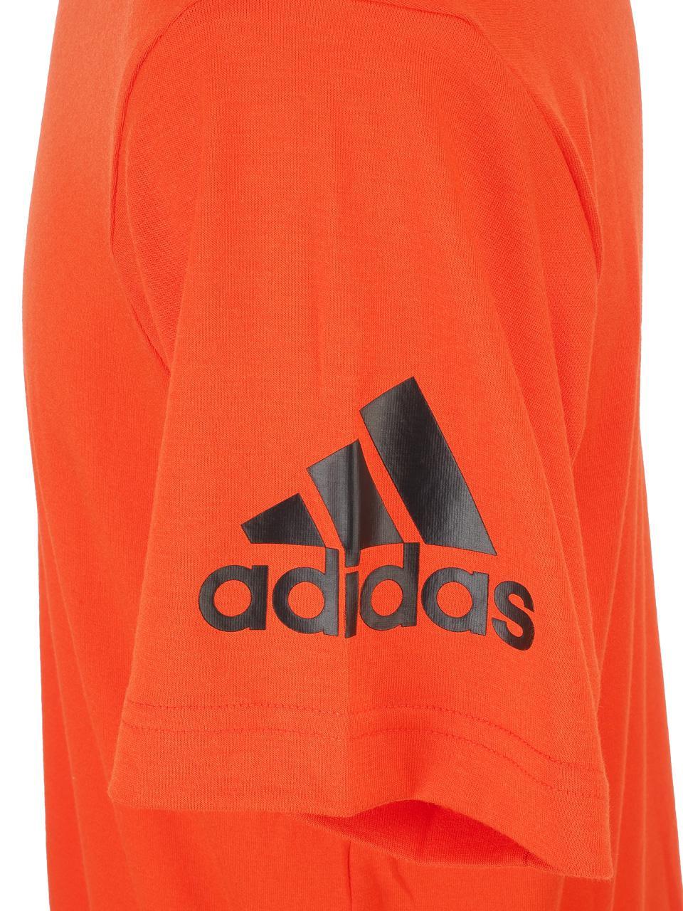 Short-Sleeve-T-Shirt-Adidas-Freelift-Premium-Rge-Mc-Tee-Red-50082-New thumbnail 2