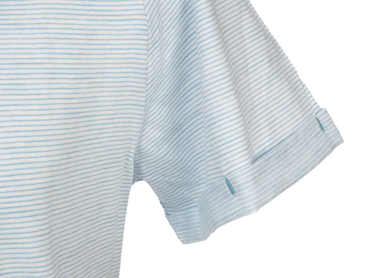 Short-Sleeve-T-Shirt-Blend-Prisco-Steel-Blue-Mc-Tee-Blue-52992-New thumbnail 3